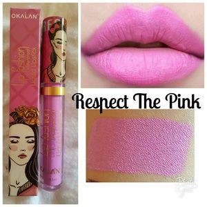 Lip Fashion Matte Gloss Respect The Pink
